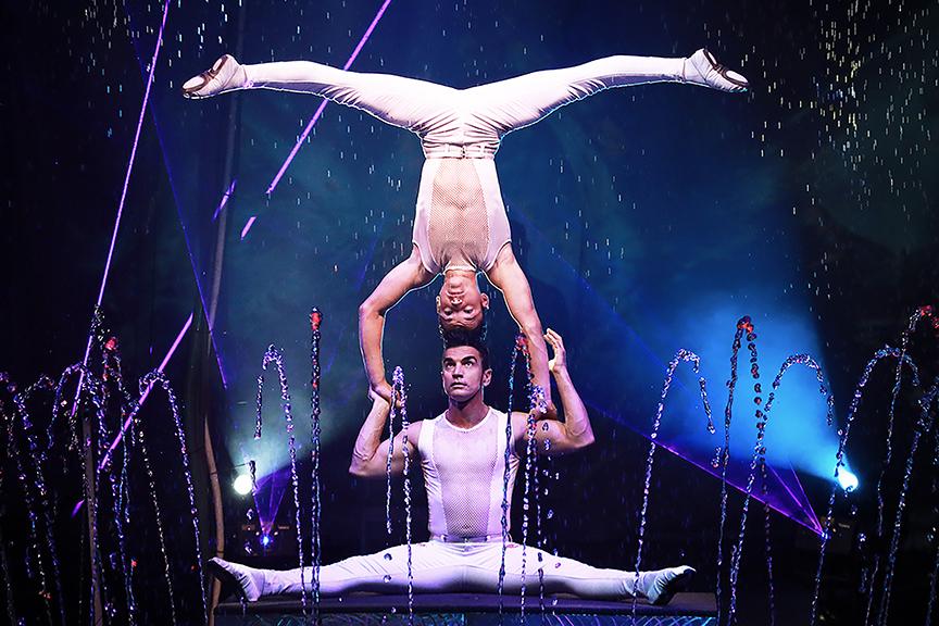 Cirque Italia en Warsaw