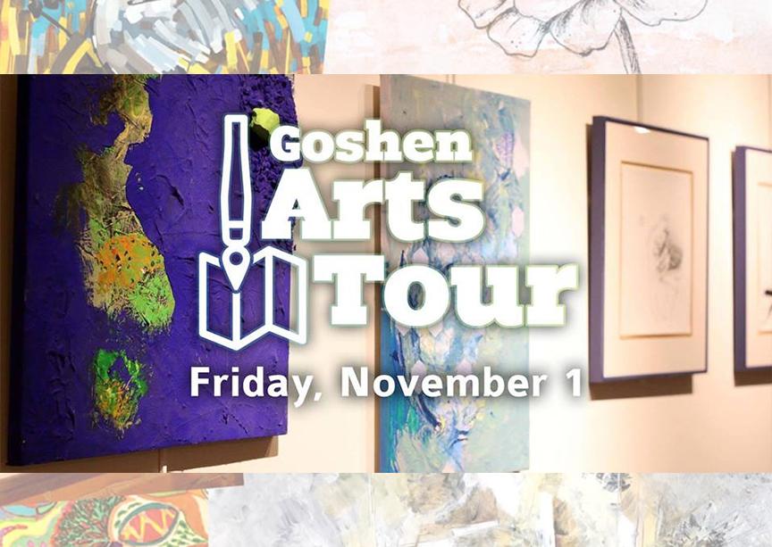 Goshen Arts Tour Cover