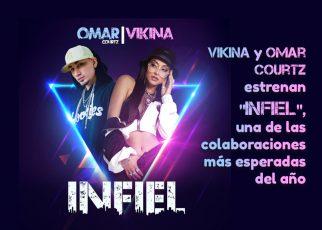 """Vikina y Omar Courtz estrenan """"Infiel"""", una de las colaboraciones más esperadas del año"""