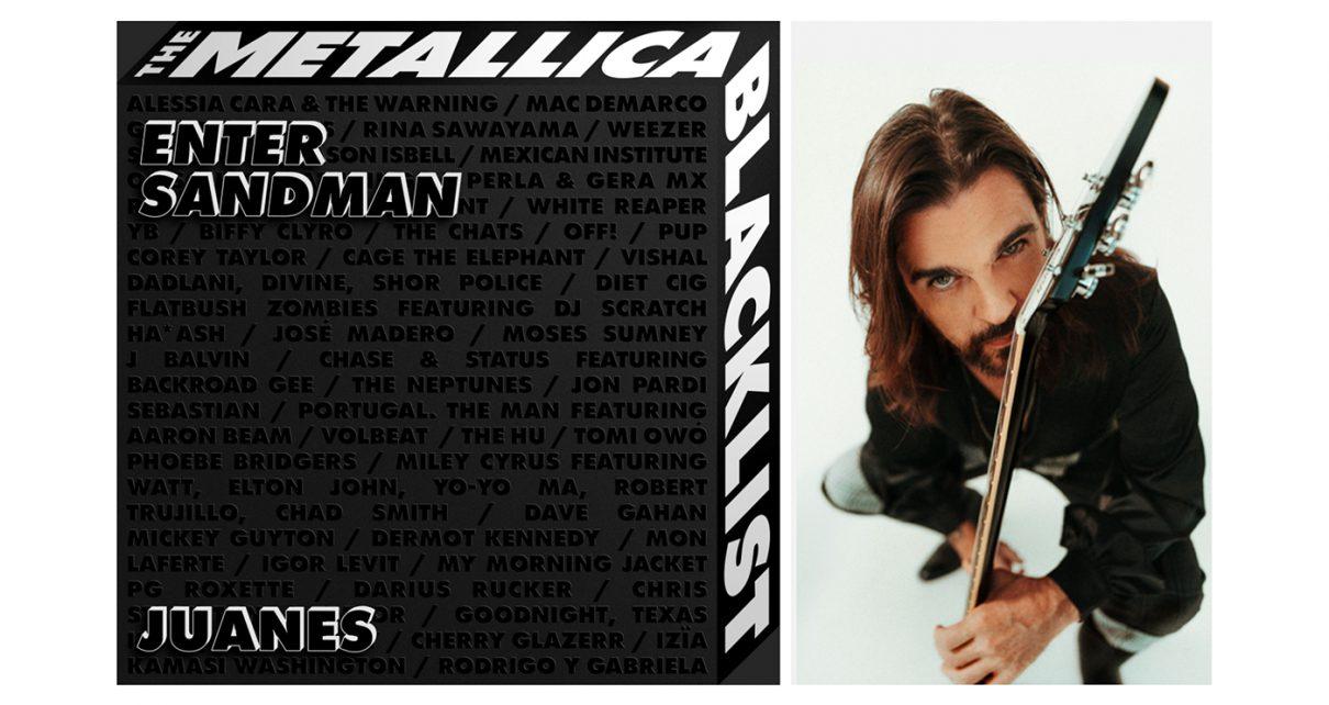 Juanes participa en el nuevo álbum de Metallica
